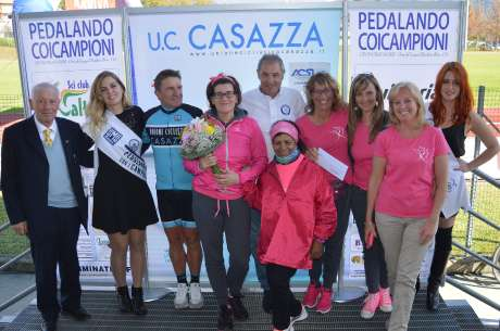 A Casazza in provincia di Bergamo il ciclismo è protagonista