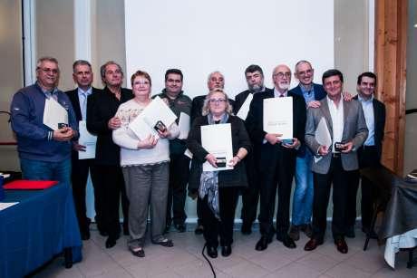 A Pavia, il Delegato Provinciale Luciano Cremonesi, consegna le Benemerenze CONI e le Stelle al Merito, alla presenza del membro di Giunta e premiato Marco Mazzoleni