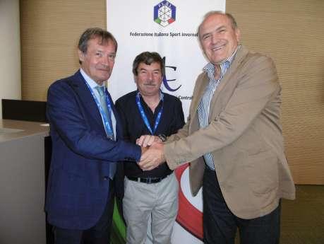 Anche il presidente Perri alle elezione del Presidente della F.I.S.I - Comitato Alpi Centrale