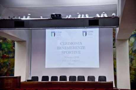 Cerimonia Consegna Benemerenze CONI Milano