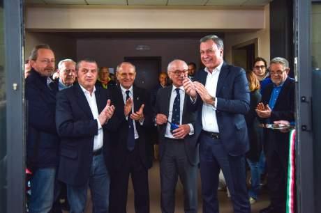 Cerimonia di consegna delle Benemerenze Coni Monza e Apertura Uffici
