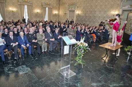 Cerimonia di Consegna delle Benemerenze Sportive del CONI Lombardia Palazzo Cusani, 30 marzo 2016