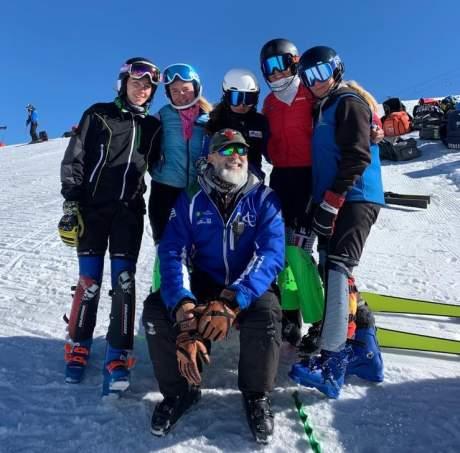 Comitato FISI Alpi Centrali: collettivo numero 3 della formazione dello sci alpino regionale