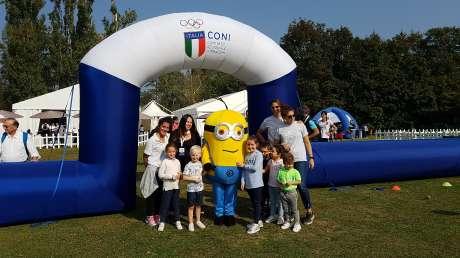 CONI Milano e il suo staff Educamp al Family Open per le prime lezioni di golf