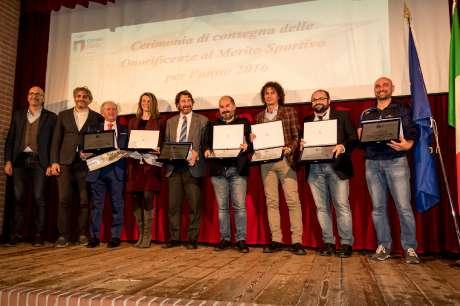 Coni Point Cremona: Cerimonia delle Benemerenze 2017