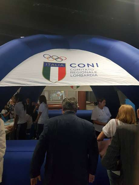 Family Day Samsung a Milano con il CONI