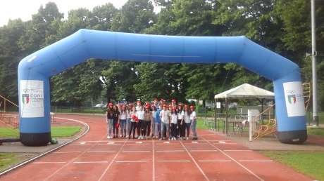 """Festa Finale del Progetto """"Giocare gli Sport per Apprendere"""" presso il Campo Sportivo Scolastico ( Campo Scuola) di Cremona"""