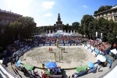 FIPAV: Finali della tappa del Campionato Italiano di Beach Volley a Milano