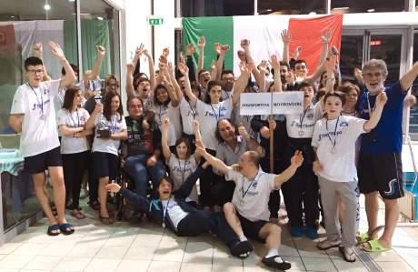 "FISDIR: Nuoto: Polisportiva Bresciana ""No Frontiere"" profeta in patria a Gussago (12)"