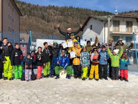 FISI Alpi Centrali:  campionati regionali di snowboard slopestyle