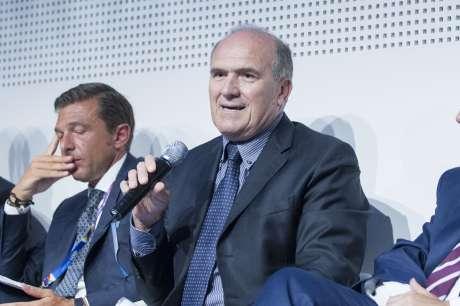 Gran Premio d'Italia di Formula 1 a Monza - Il presidente Perri presente alla conferenza stampa
