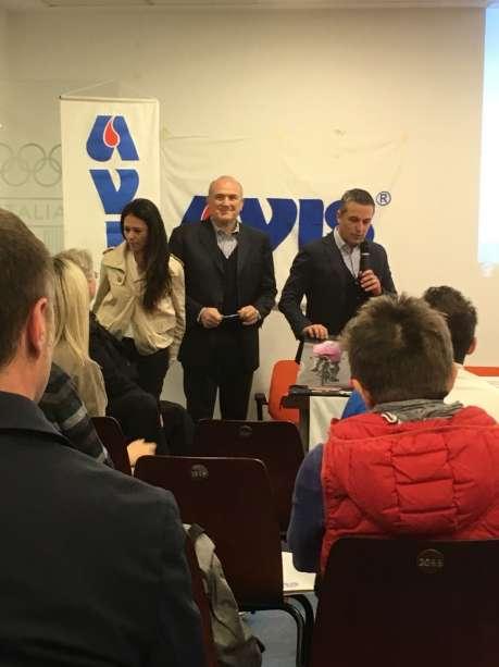 L'AVIS al Coni Lombardia con il presidente Perri e tanti Campioni