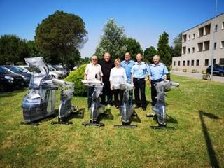 Sport Out 2019 Regione Lombardia/Coni Lombardia:consegna delle attrezzature sportive presso alcune carceri della Regione