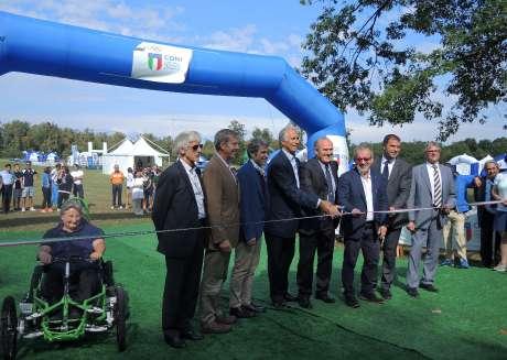 Villaggio dello Sport CONI Lombardia ai 73° Open di Italia di Golf a Monza
